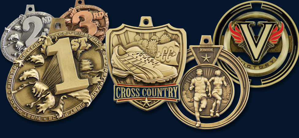 CROSS COUNTRY MEDALS