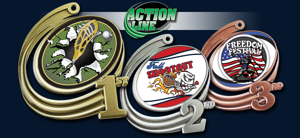 1ST-3RD ACTION MEDALS