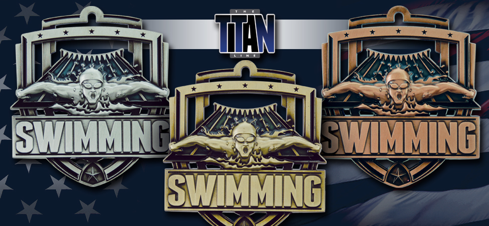 2017 TITAN SWIMMING MEDALS